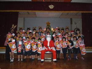 クリスマス会2(新利根幼稚園)
