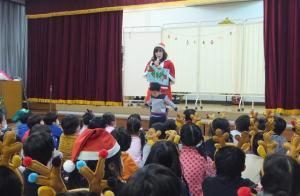 クリスマス会1(新利根幼稚園)