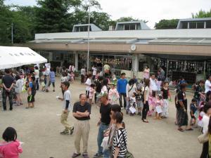夏祭り(新利根幼稚園)