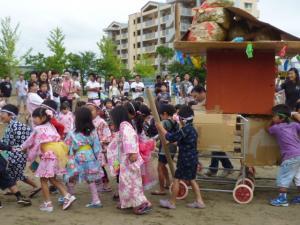 夕涼み会1(みのり幼稚園)