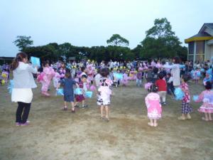夕涼み会2(みのり幼稚園)