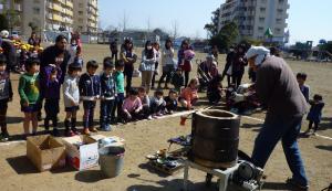 陶芸教室(みのり幼稚園)