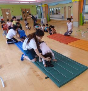 体操教室(こども園えどさき)