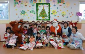 クリスマス会(こども園えどさき)