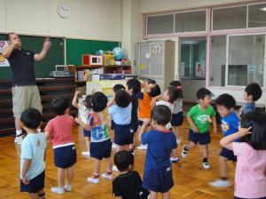 英語で遊ぼう(ゆたか幼稚園)
