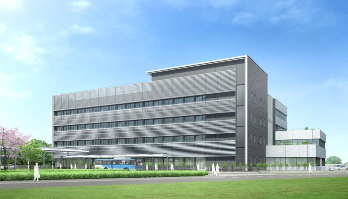 『新庁舎パース_南面』の画像