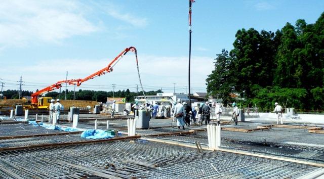 『h270602_庁舎棟コンクリート打設』の画像