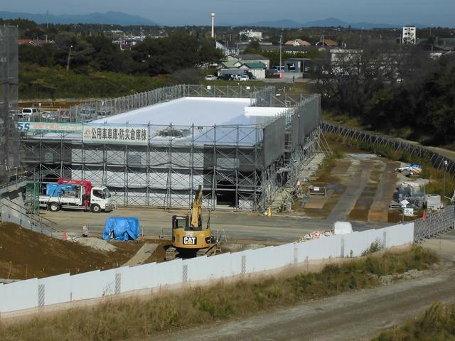 『h271104_公用車庫防災倉庫棟全景』の画像