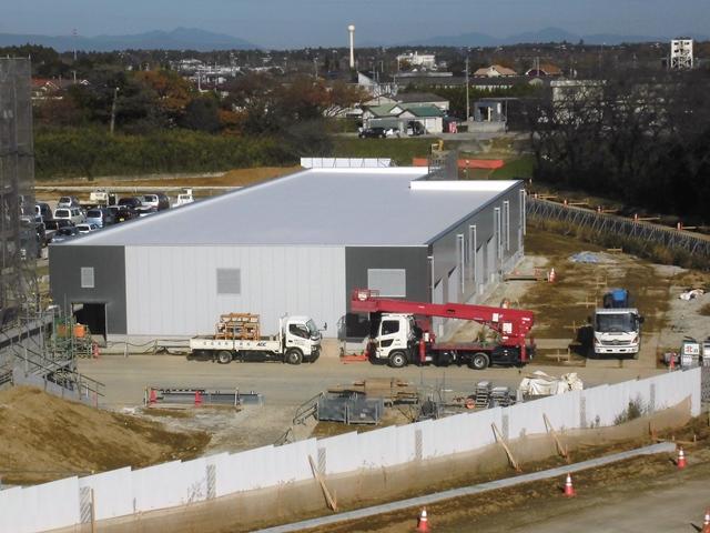 『h271207_公用車車庫防災倉庫棟全景』の画像