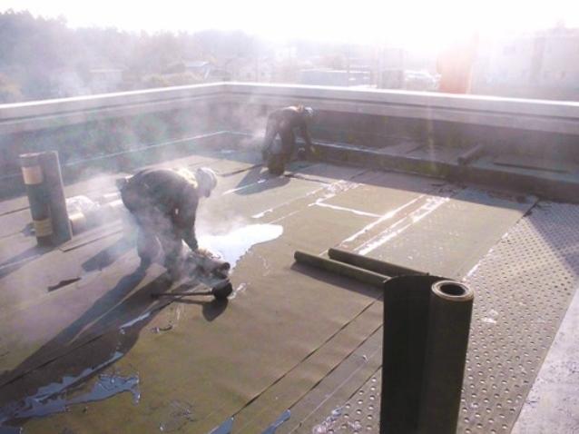 『h271216_庁舎棟2階屋上防水』の画像