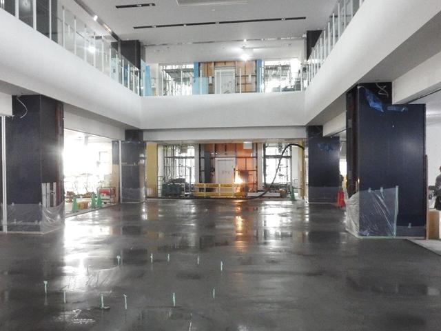 『h280212_1階吹抜床施工』の画像