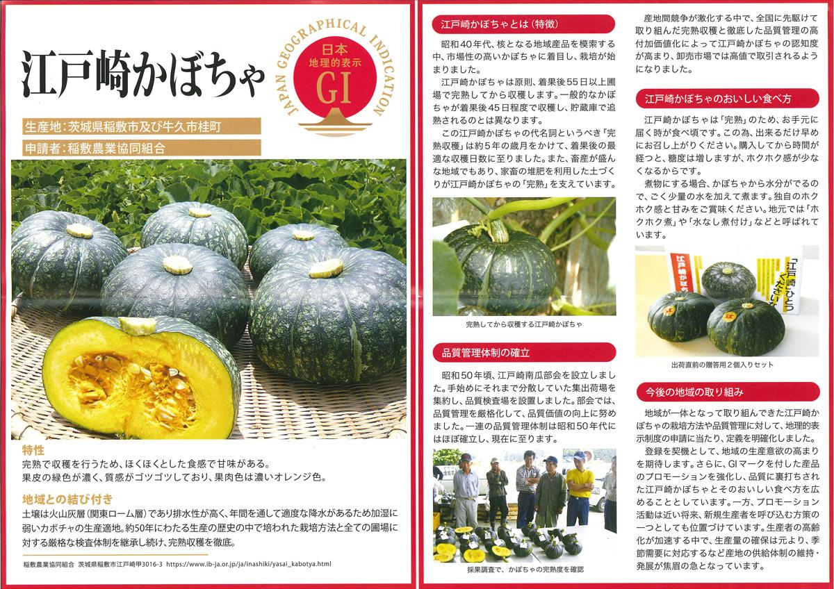 『江戸崎かぼちゃ冊子』の画像