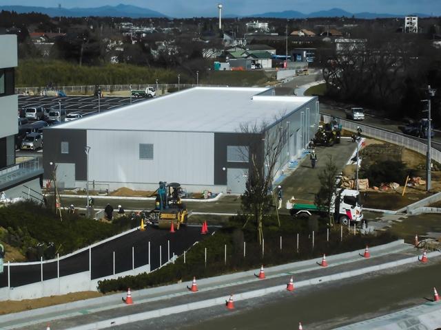 『h280301公用車車庫防災倉庫棟全景』の画像