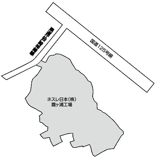 迎山工業団地 区画図