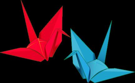 『折り鶴』の画像
