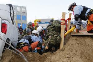 『土砂災害救出』の画像