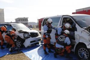 『多重事故救出』の画像