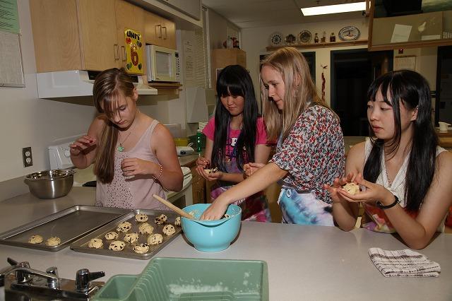 クッキー作り体験