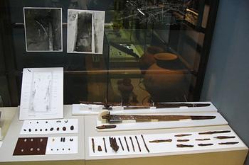 銅造如来立像(展示品は複製)/白鳳時代 阿波崎・満願寺蔵