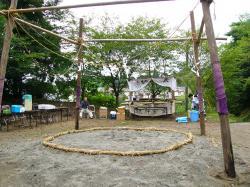 柴崎愛宕神社奉納相撲