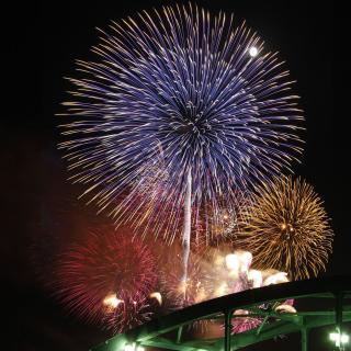 『8月19日(土)いなしき夏まつり花火大会』の写真