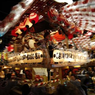 『江戸崎祇園祭開催』の写真